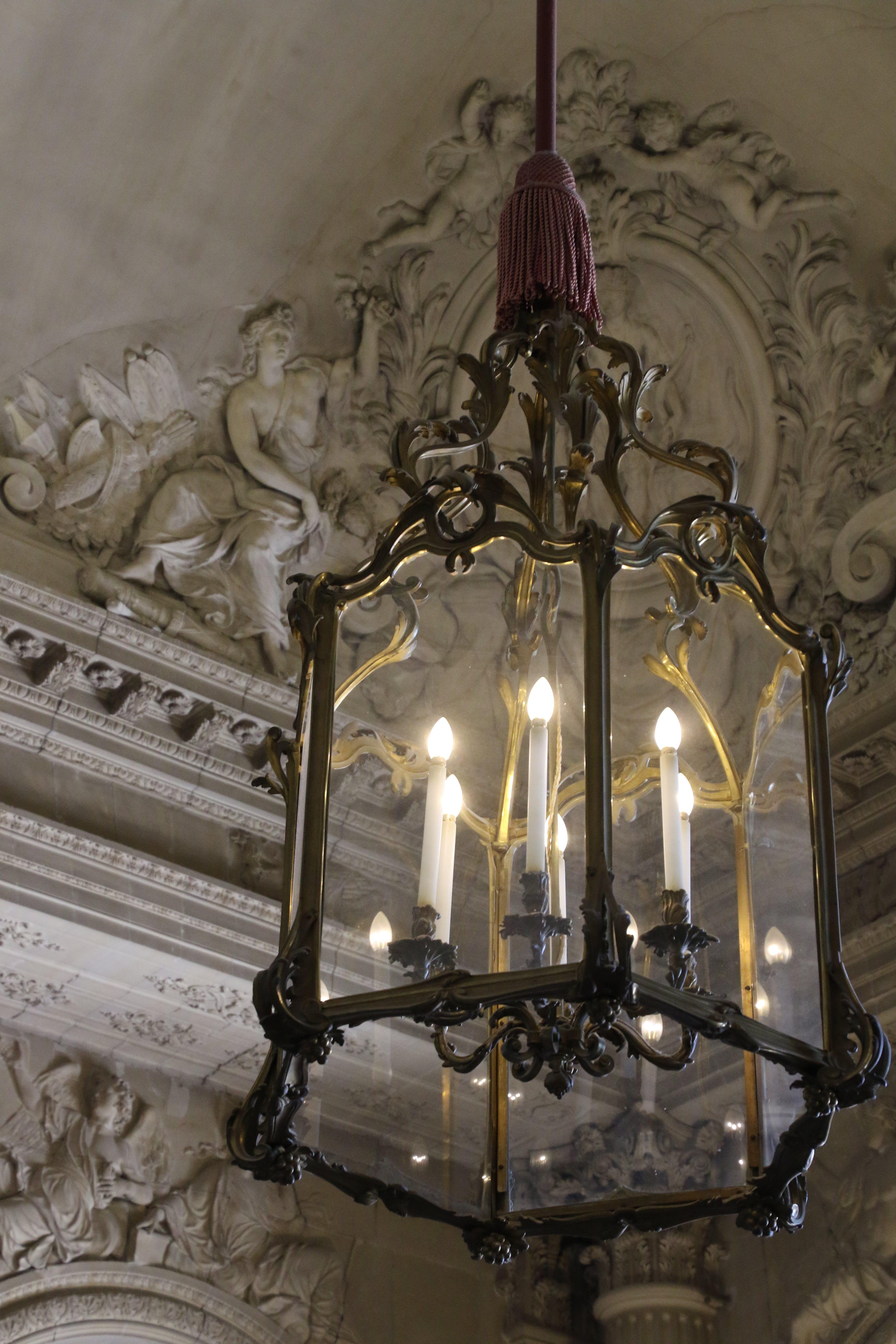 Free stock photo of light, paris, palace, chandelier