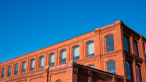 Free stock photo of architecture, bricks, building, factory