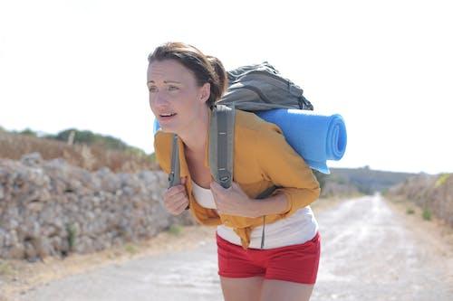 ハイキング, バックパック, ビュー, 人の無料の写真素材