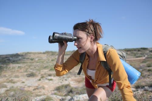 ハイキング, バックパック, ビュー, ホットの無料の写真素材
