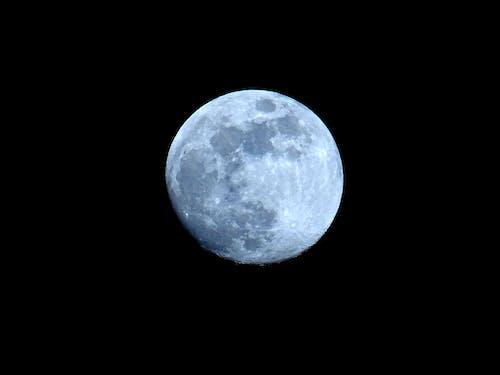 Бесплатное стоковое фото с Астрономия, космос, кратер, луна