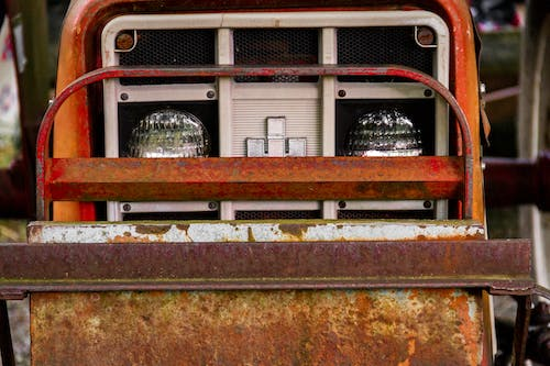 Free stock photo of old tractor, tractor, tractor grill