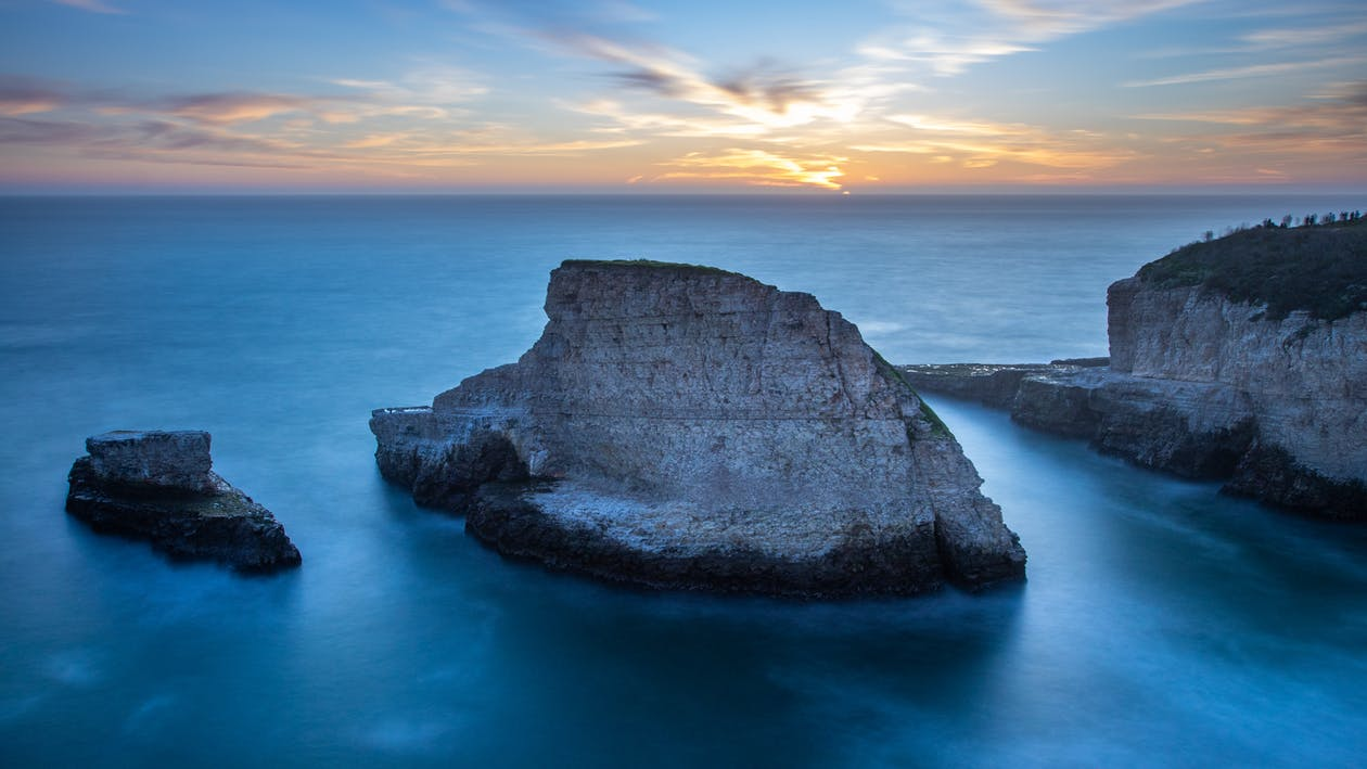 beach, california coast, cliff coast