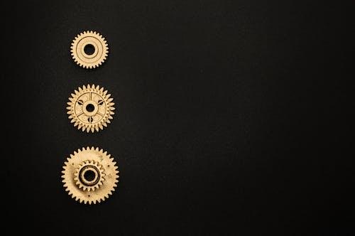 ゴールデン, スプロケット, 円, 円形の無料の写真素材