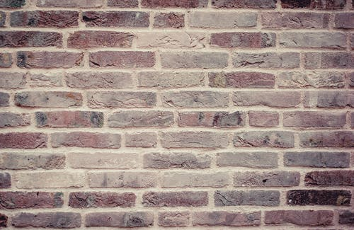 Brown and Grey Wall Brick