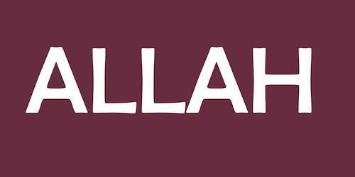 Free stock photo of Alhamdulillah, allah, allahuakbar, art