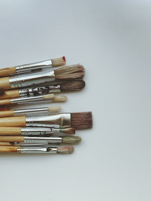 Brown Makeup Brush Set