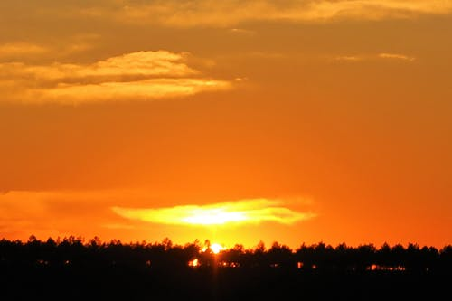 Free stock photo of akşam, doğa, gün batımı, güneş
