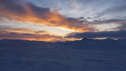 Darmowe zdjęcie z galerii z niebo, zachód słońca