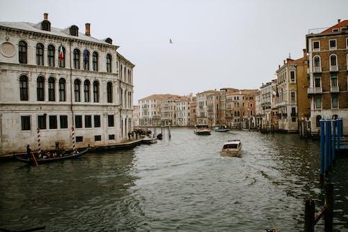 binalar, deniz araçları, gemiler içeren Ücretsiz stok fotoğraf
