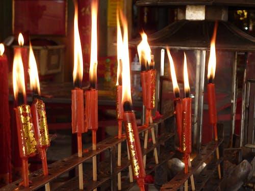 Δωρεάν στοκ φωτογραφιών με κεριά, ναός, προσευχή
