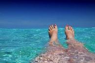 sunny, beach, holiday