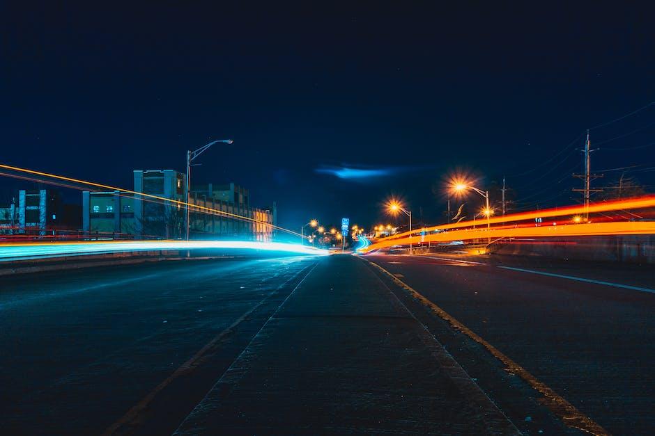 Asphalt buildings city city lights