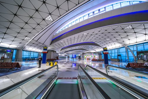 Základová fotografie zdarma na téma architekt, cestování, dopravní systém, eskalátor