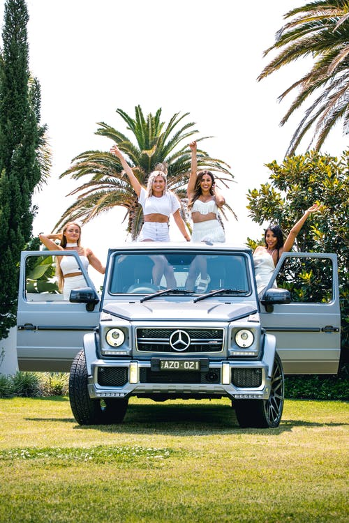 Free stock photo of cars, girls, rich