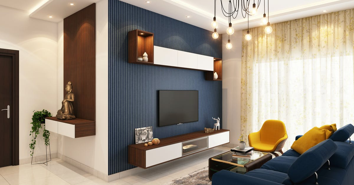 modern living room concept