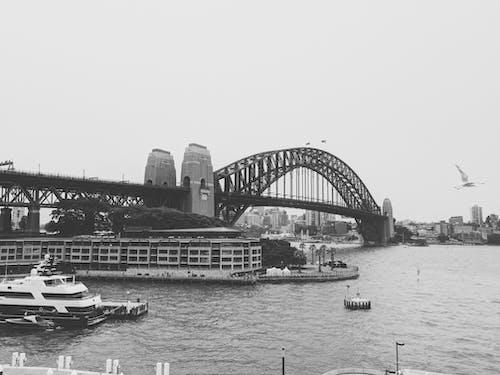 Kostenloses Stock Foto zu architektur, aussicht, australien, boot