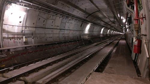 Foto stok gratis kereta bawah tanah, metro, terowongan