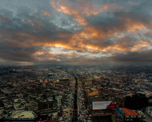Foto profissional grátis de acima das nuvens, aerofotografia, câmera drone