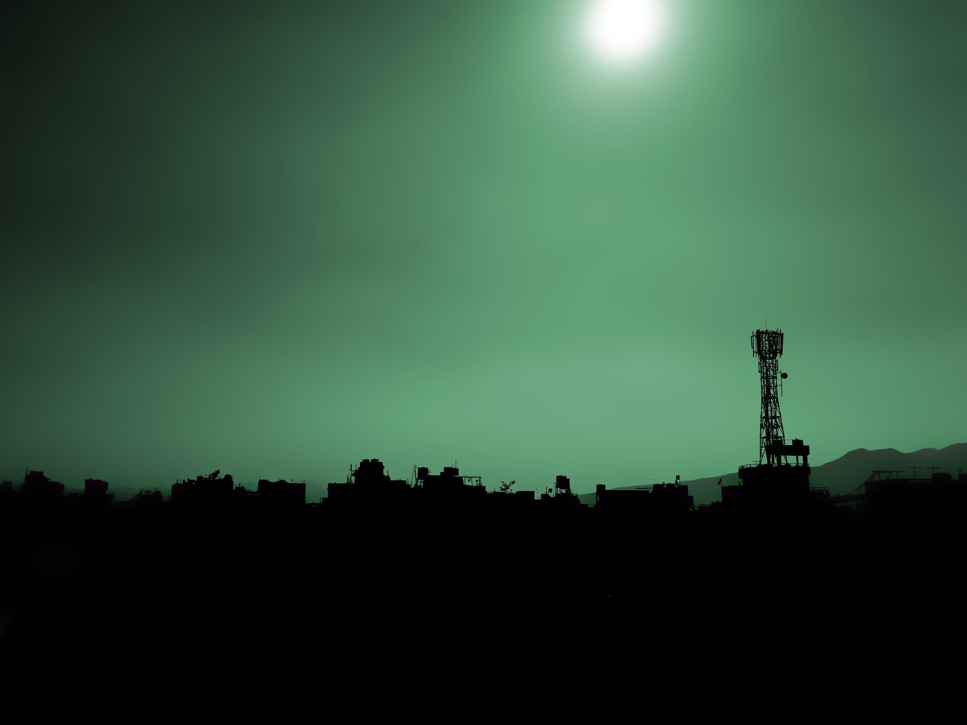 Free stock photo of city, dawn, sky, dark