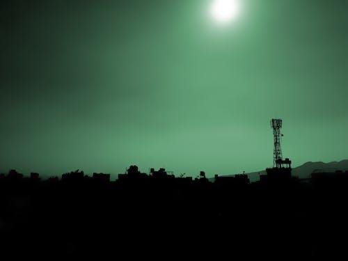 Foto profissional grátis de alvorecer, cair da noite, céu, cidade