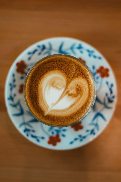 Fotos de stock gratuitas de arte del cafe, arte latte, café, café con leche