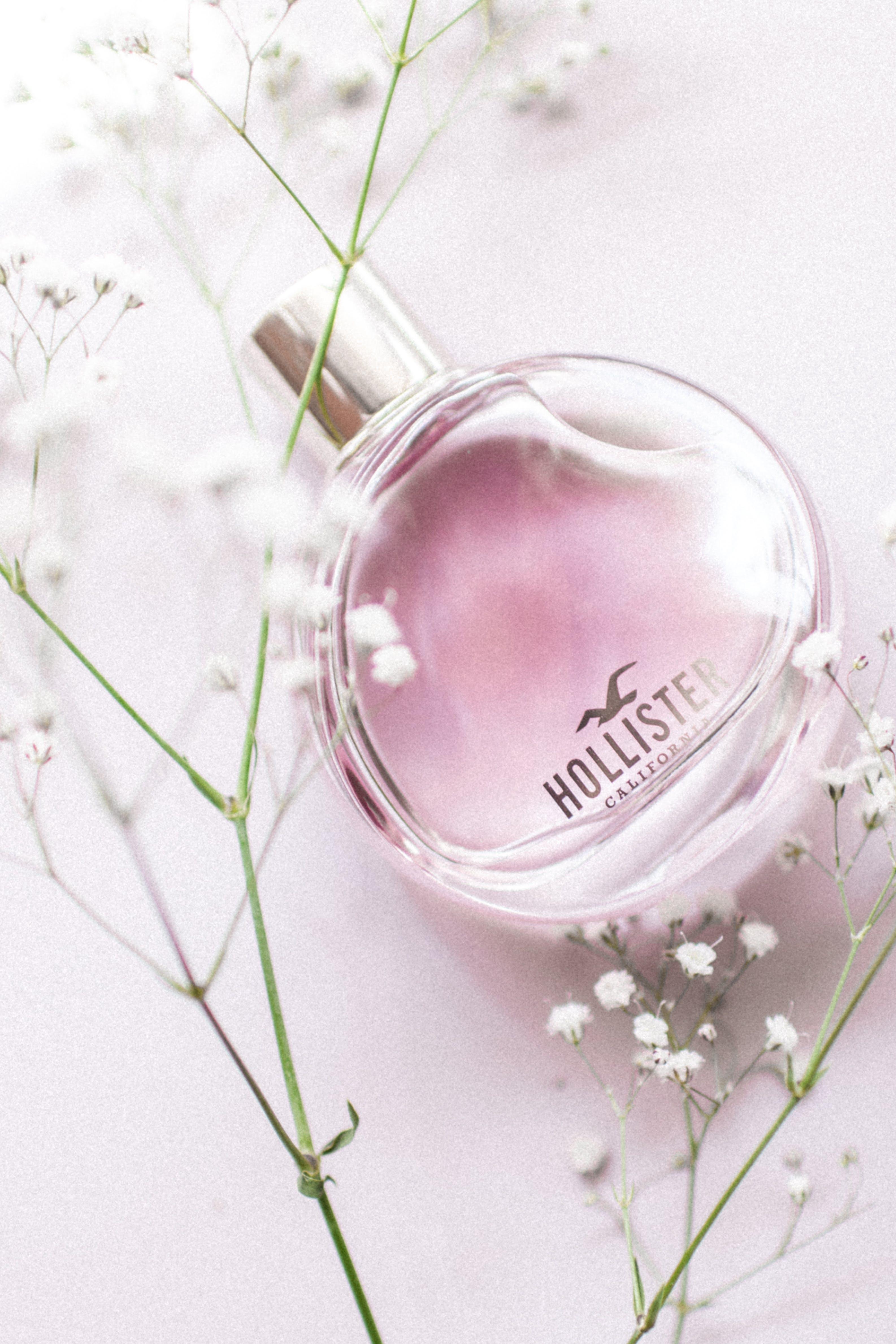Close-Up Photo of Hollister Fragrance Bottle