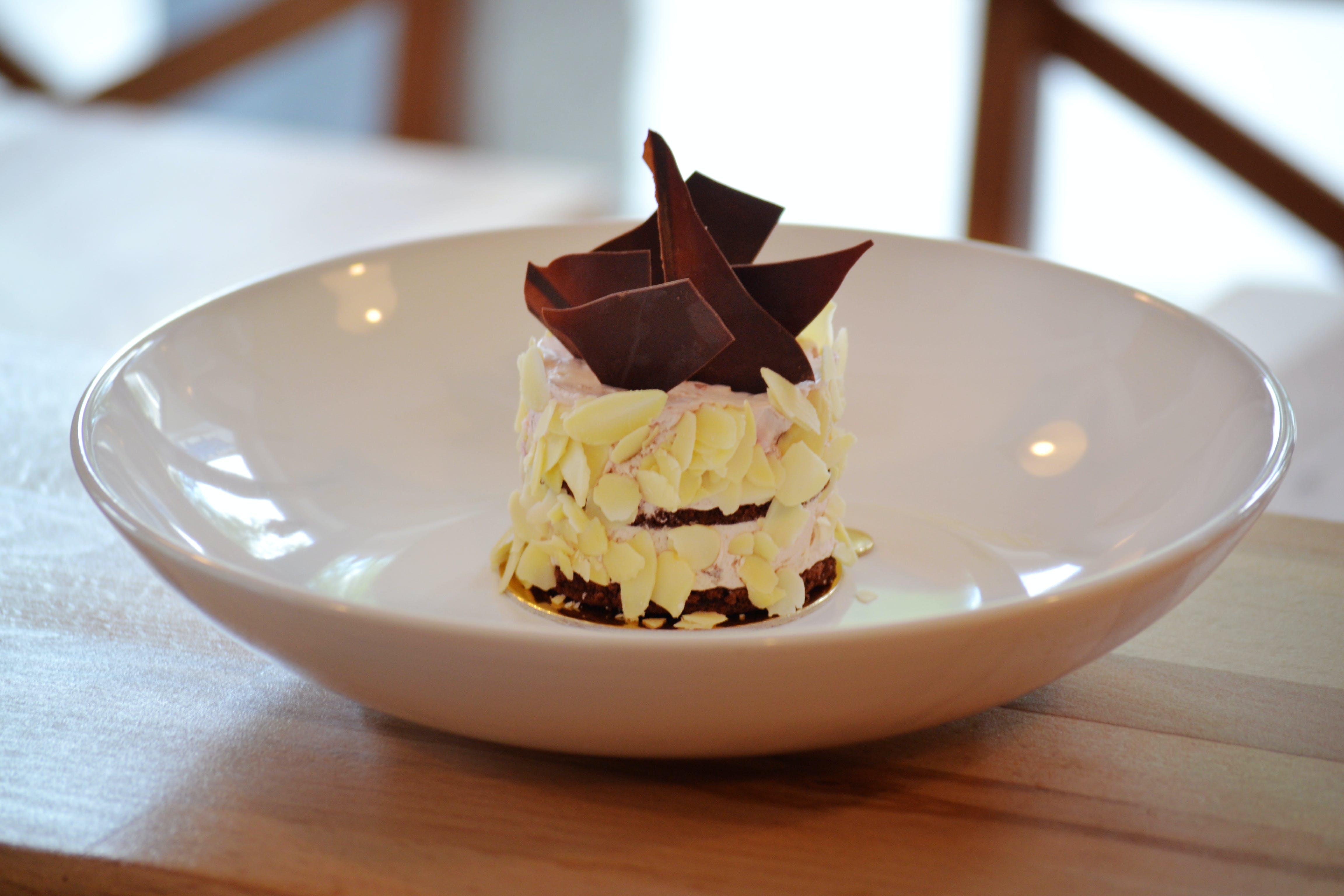 Free stock photo of food, plate, dark, brown