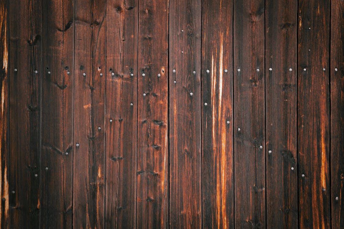 Shabby texture of wooden door as background