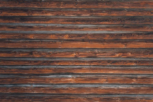 Brown wooden surface made of timber planks