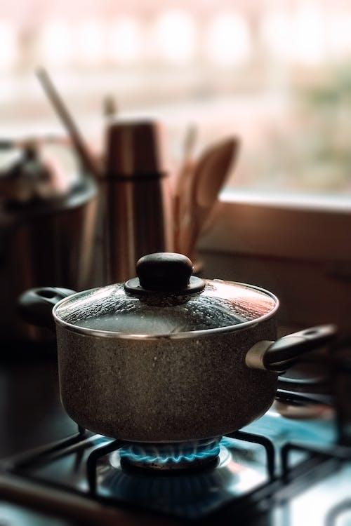 Foto d'estoc gratuïta de a casa, concentrar-se, cremador, cremador de gas