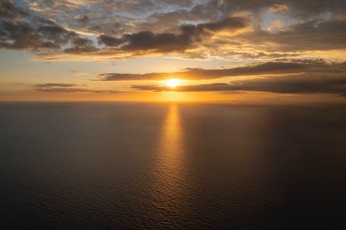 Gratis lagerfoto af Caribien, caribiske hav, gylden time, gyldne horisont
