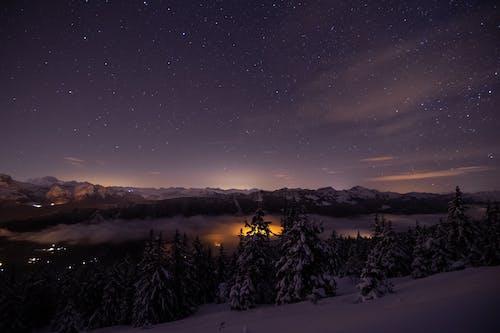 Kostnadsfri bild av 4k tapeter, astro, astronomi, bergen