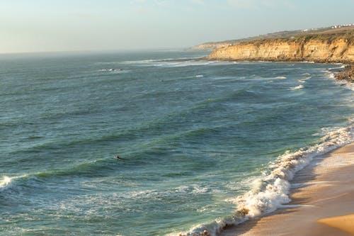 Free stock photo of beach sunset, ocean, sand, sun