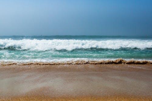 Free stock photo of beach sunset, sand, sun