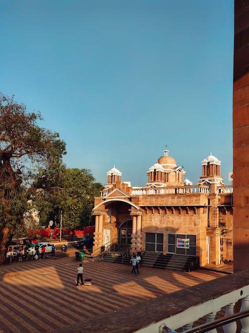 Fotos de stock gratuitas de arquitectura, cielo azul, cielo hermoso, cinematografía