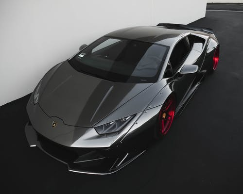 Photo of Black Lamborghini
