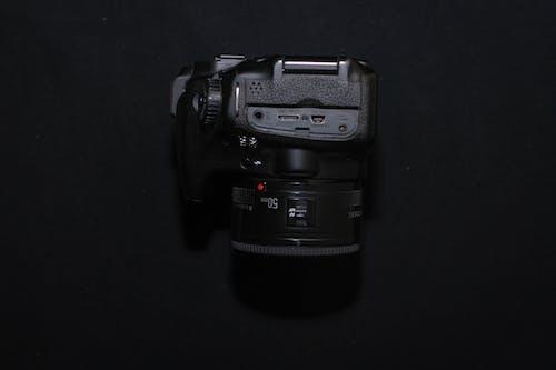 Δωρεάν στοκ φωτογραφιών με canon, κάμερα, μαύρη κάμερα