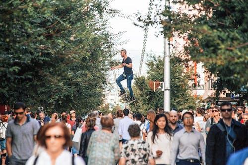 中央, 人, 人群 的 免费素材图片