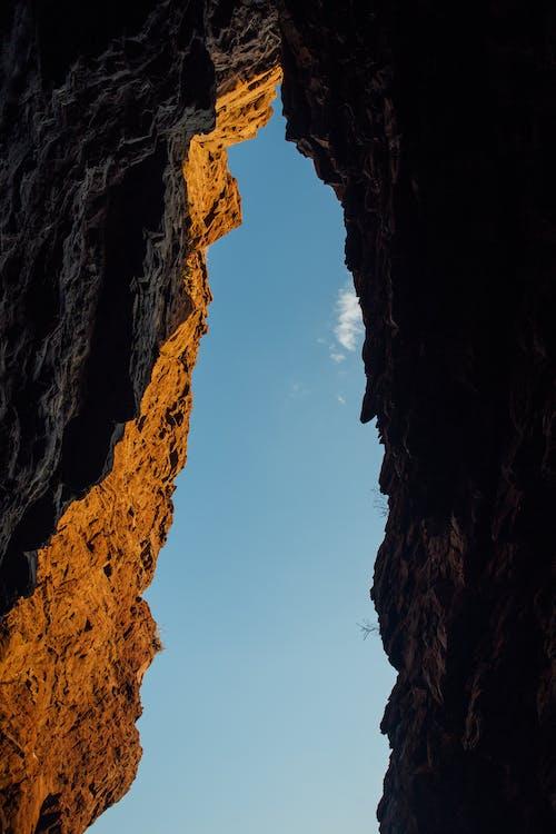 布朗山的高角度摄影