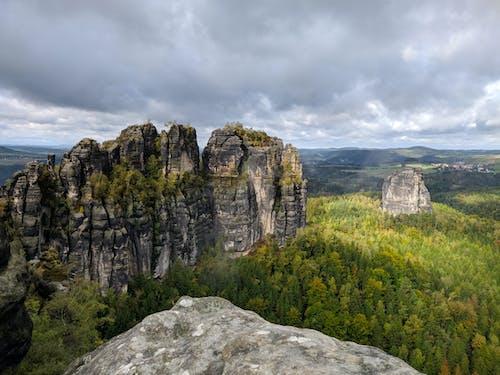 Ingyenes stockfotó cliff edge, erdő, fák témában