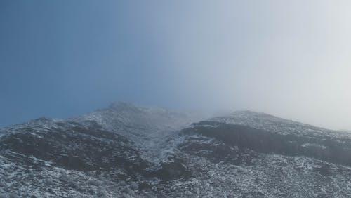 Free stock photo of grass, mountains, sky, snow