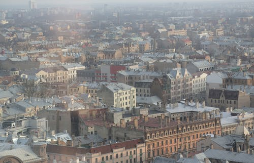 Picturesque view of Riga old town