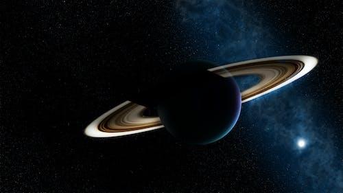 Kostnadsfri bild av begrepp, ringad planet, rymden