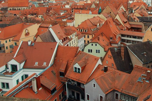 Free stock photo of roof tops