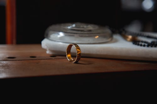Free stock photo of gold, jewelry, ring
