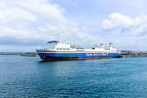 Free stock photo of cargo, cargo container, cargo ship, deep ocean
