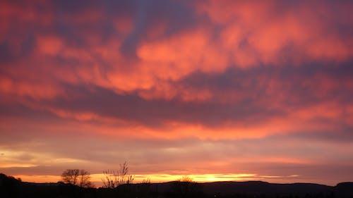 Ilmainen kuvapankkikuva tunnisteilla auringonlasku, pilvet, Saksa