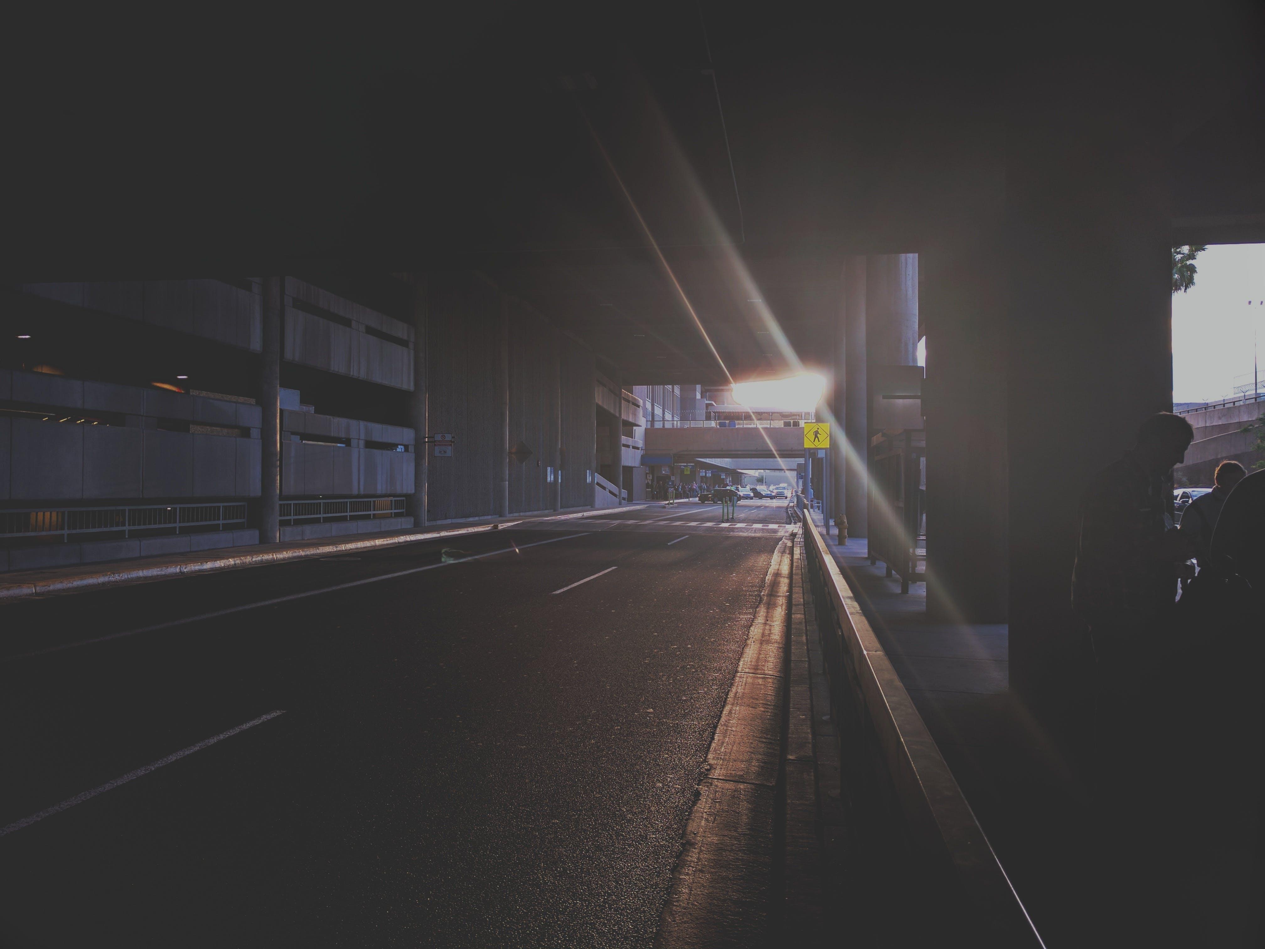 Free stock photo of light, road, sunset, street