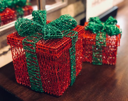 Free stock photo of christmas gift, colorful, colour